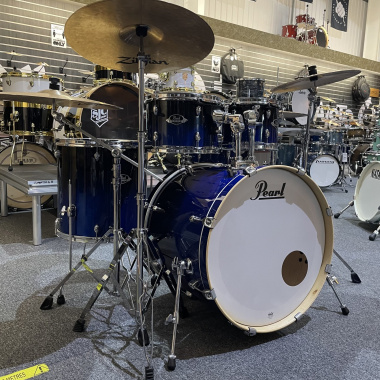 Pearl EXL 22in Drum Kit With Hardware & ZBT Cymbals – Pre-owned