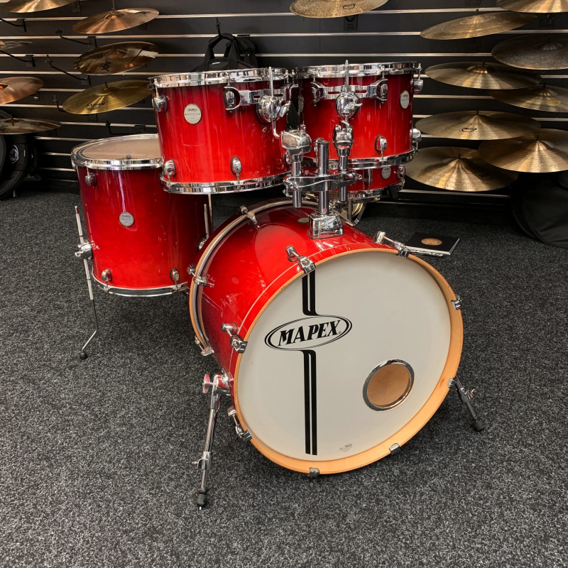 Mapex Meridian Birch 22in 5pc Shell Pack – Pre-owned