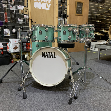 Natal Cafe Racer 18in 5pc Shell Pack – Seafoam Green – Pre-owned