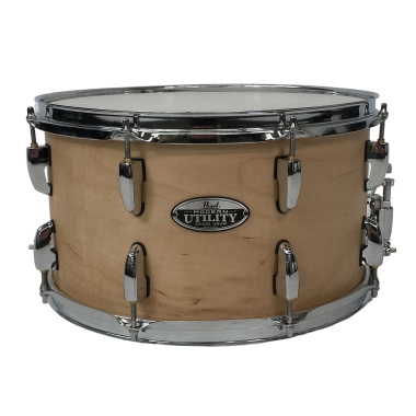 Pearl Modern Utility 14x8in Maple Snare – Matte Natural – Pre-owned