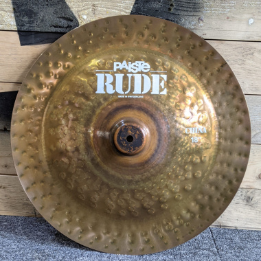Paiste Rude 18in China – Pre-owned