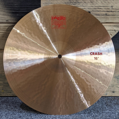 Paiste 2002 16in Crash – Pre-owned
