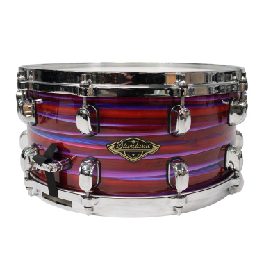 Tama Starclassic Walnut/Birch 14×6.5in Snare, Lacquer Phantasm Oyster – Pre-owned