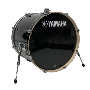 Yamaha Stage Custom 22x17in Bass Drum – Raven Black – Pre-owned