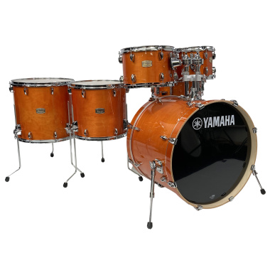 Yamaha Stage Custom Birch 6pc Shell Pack – Honey Amber – Pre-owned