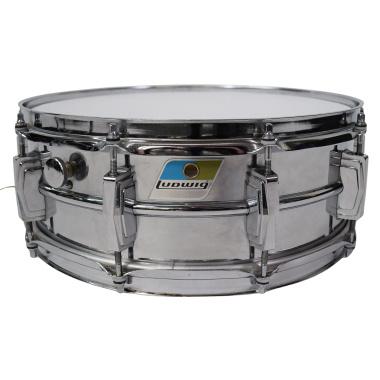 Ludwig 14x5in Supraphonic Aluminium Snare Drum – Pre-owned