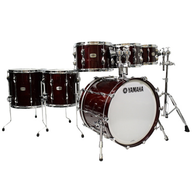 Yamaha Recording Custom 6pc 22in Shell Pack – Classic Walnut – Pre-Owned