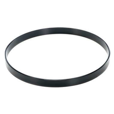 Worldmax 24in Maple Bass Drum Hoop – Black Lacquer