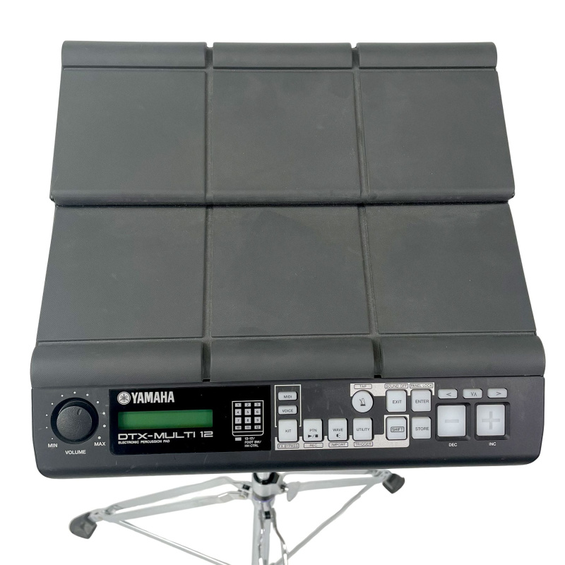 Yamaha DTX-Multi 12 with PS940 Stand & Mount – Pre-owned