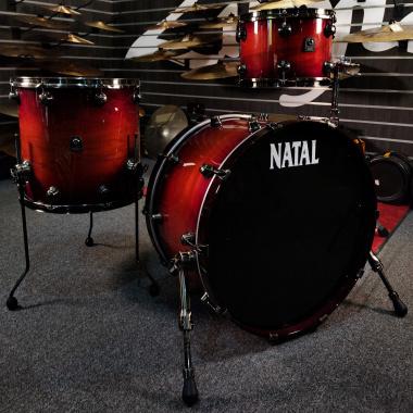 Natal Originals Walnut 24in 3 Piece Shell Pack – Sunburst