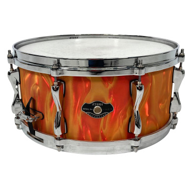 Tama Superstar 14×6.5in Snare EFX Orange Satin Flame