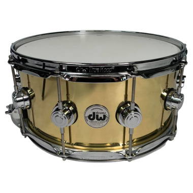 DW Collector's 14×6.5in Bell Brass Snare Drum