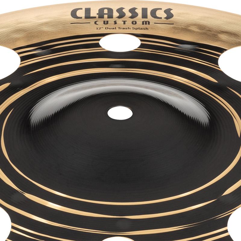 Meinl Classics Custom Dual 12in Trash Splash Cymbal