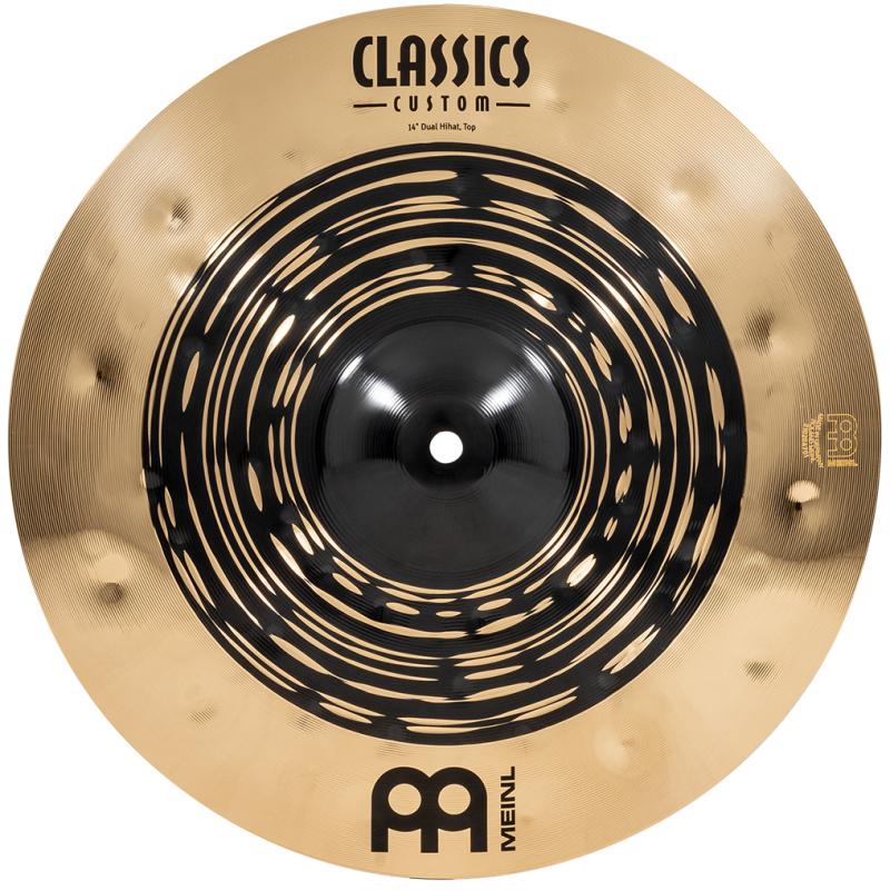 Meinl Classics Custom Dual 14in Hi-hat Cymbals