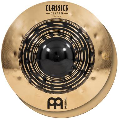 Meinl Classics Custom Dual 15in Hi-hat Cymbals