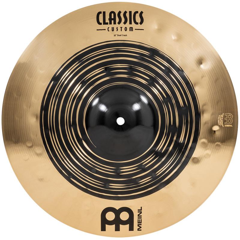 Meinl Classics Custom Dual 16in Crash Cymbal