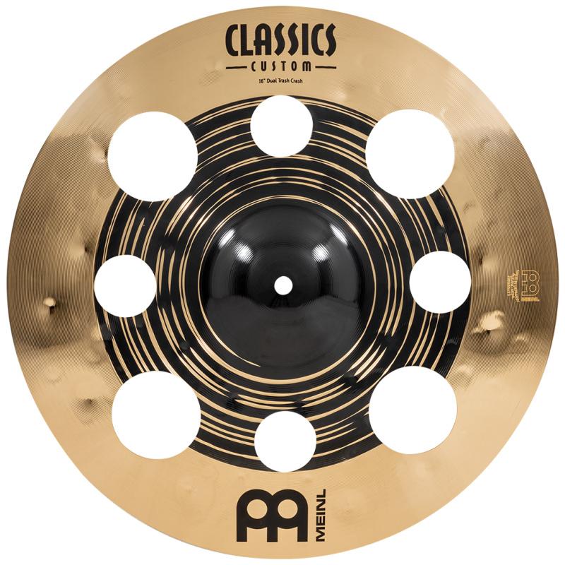 Meinl Classics Custom Dual 16in Trash Crash Cymbal