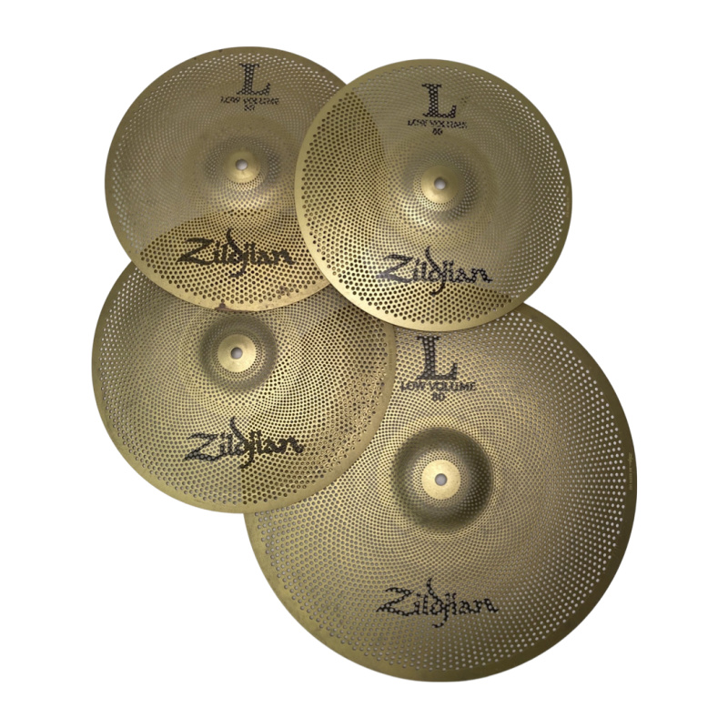 Zildjian Low Volume 468 Cymbal Set
