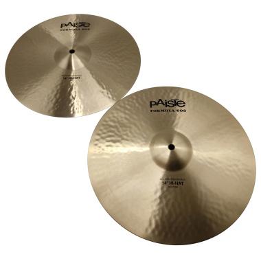Paiste Modern Essentials 602 14in Hi-hat Cymbals