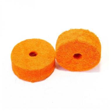 Tuner Fish Cymbal Felts 10pk – Orange