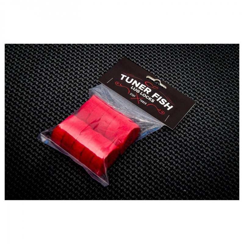 Tuner Fish Cymbal Felts 10pk – Red