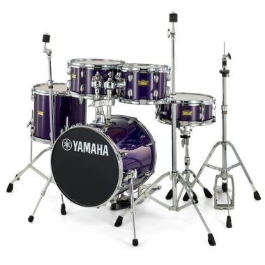 Yamaha Manu Katche Junior 5pc Kit With Hardware – Deep Violet