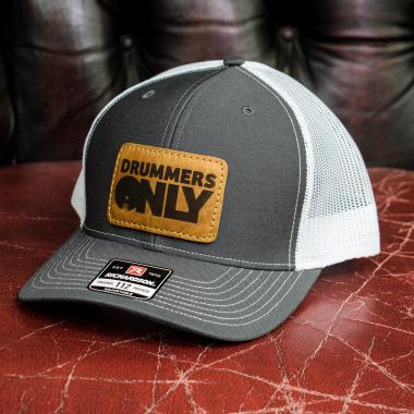 Drummers Only Trucker Cap – Grey & White