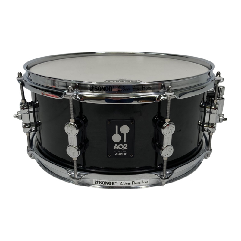 Sonor AQ2 13x6in Snare – Transparent Stain Black