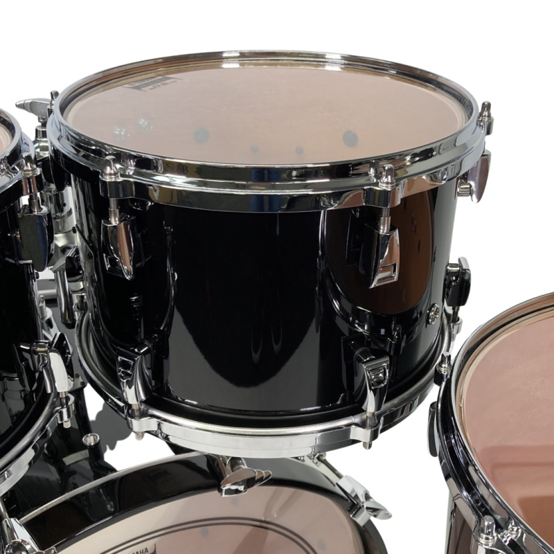 Yamaha Absolute Hybrid Maple 22in 4pc Shell Pack – Solid Black