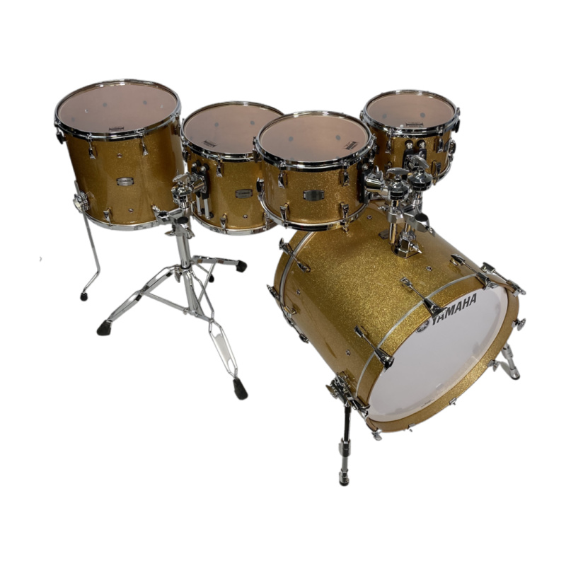 Yamaha Absolute Hybrid Maple 22in 5pc Shell Pack – Gold Champagne Sparkle