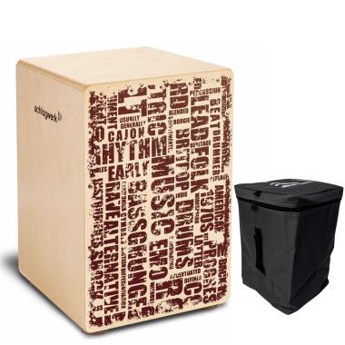 Schlagwerk X-One Cajon – Styles – Medium With Free Bag