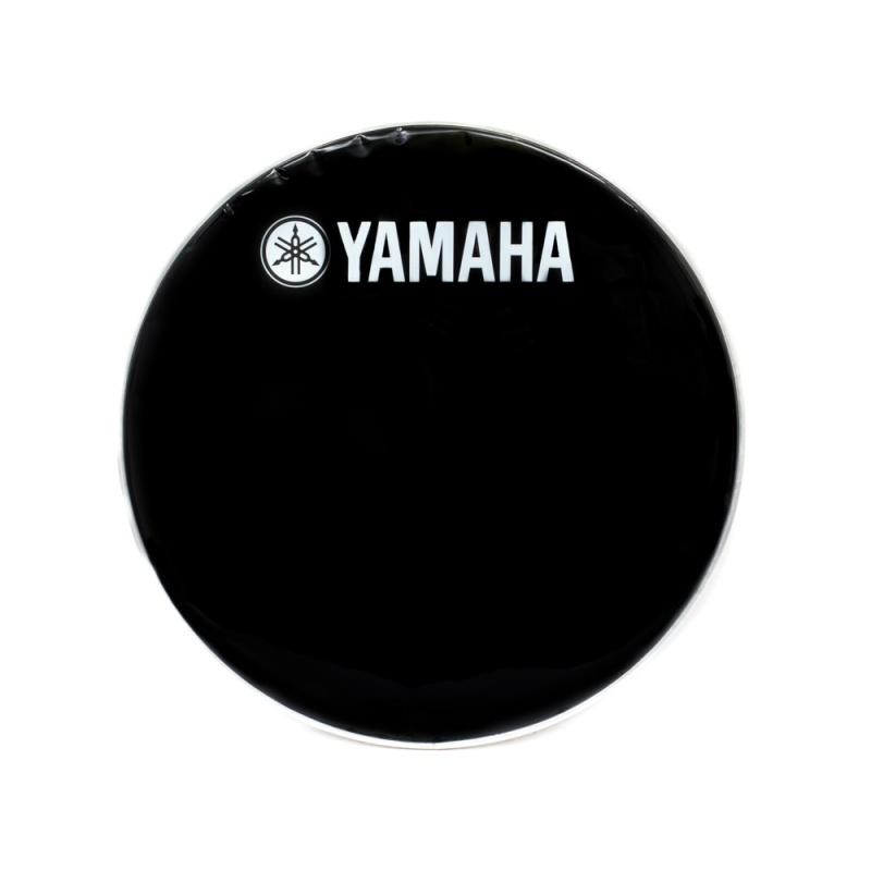 Yamaha 18in Classic Black Logo Bass Drum Head