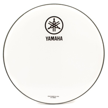 Yamaha 20in New Logo White Bass Drum Head