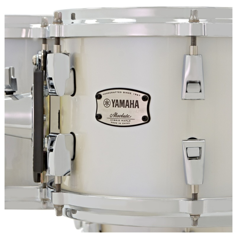 Yamaha Absolute Hybrid Maple 22in 4pc Shell Pack – Polar White