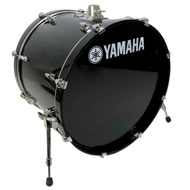 Yamaha Stage Custom 20x17in Bass Drum – Raven Black