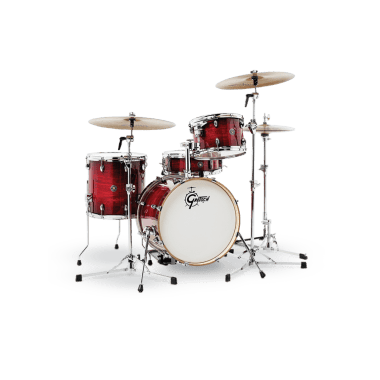 Gretsch Catalina Club 18in 4pc Shell Pack – Gloss Crimson Burst