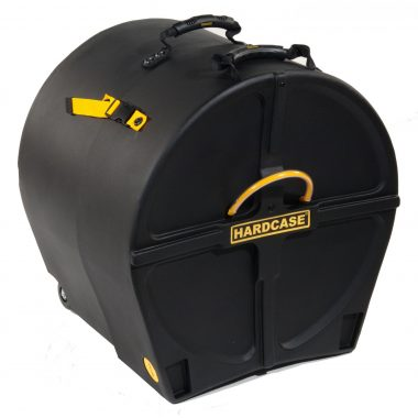 Hardcase 18in Bass Drum Case with Wheels