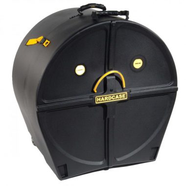 Hardcase 24in Bass Drum Case with Wheels