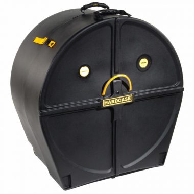 Hardcase 26in Bass Drum Case W/Wheels
