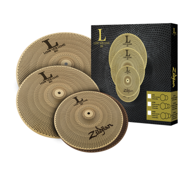 Zildjian L80 Low Volume 468 Cymbal Set