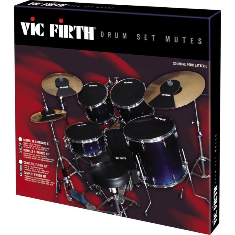 Vic Firth Drum Silencer Set – 10/12/14/14/20