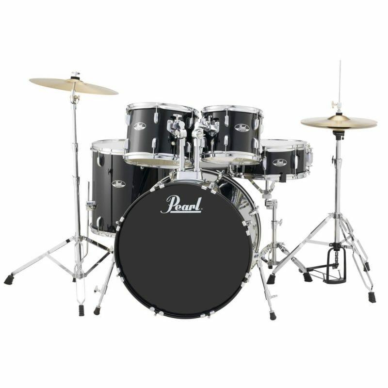 Pearl Roadshow American Fusion 5pc Drum Kit – Jet Black