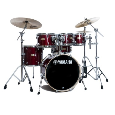 Yamaha Stage Custom Birch 20in 6pc Shell Pack – Cranberry Red
