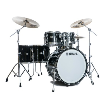 Yamaha Recording Custom 5pc 22in Shell Pack – Solid Black