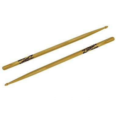 Zildjian Hickory 5A Acorn Tip Sticks