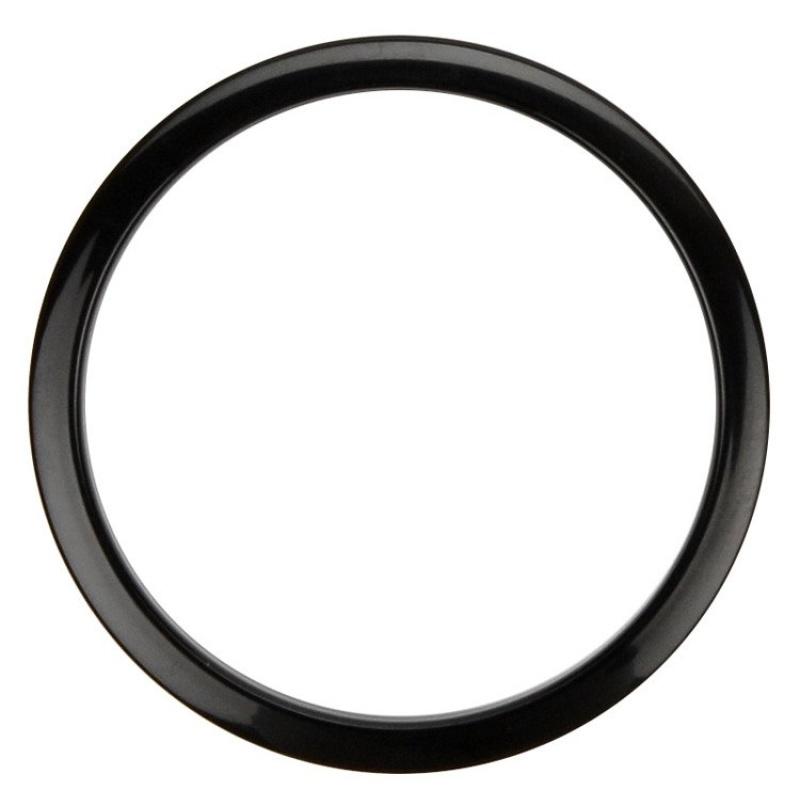 Bass Drum O – Black 6in