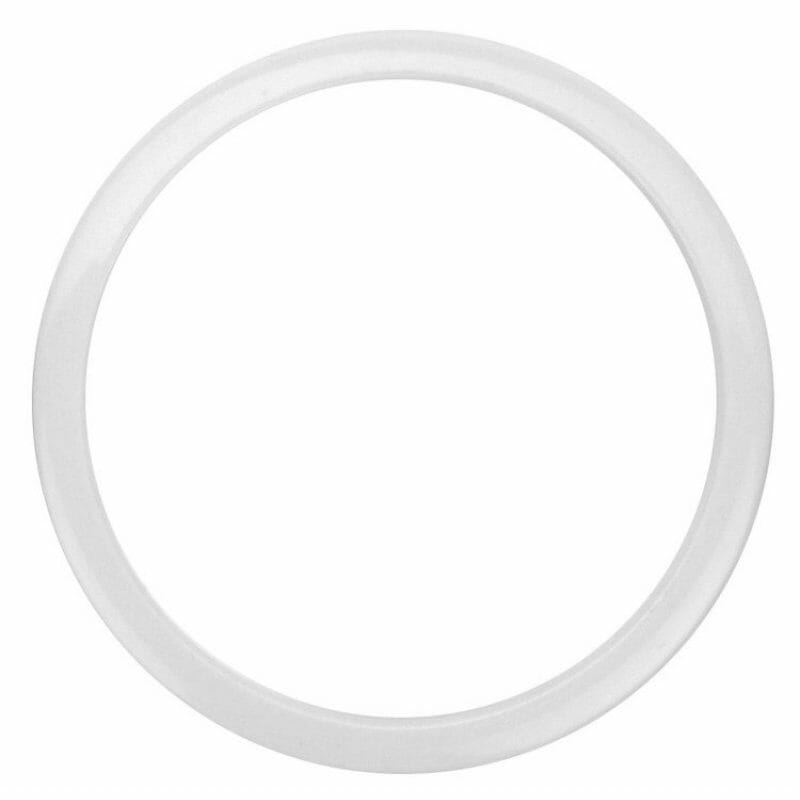 Bass Drum O – White 4in