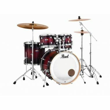 Pearl Decade Maple 22 Fusion 5pc Kit – Deep Gloss Red