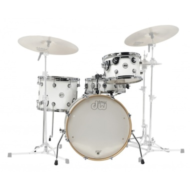 DW Design Series Frequent Flyer 4pc 20 Shell Pack – Gloss White