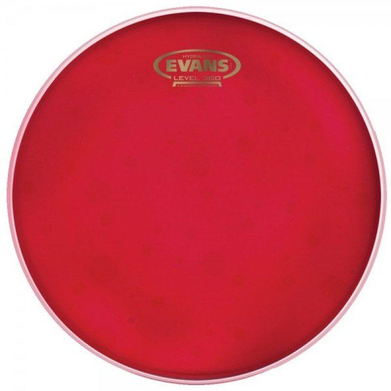 Evans Hydraulic Red 10in Drum Head